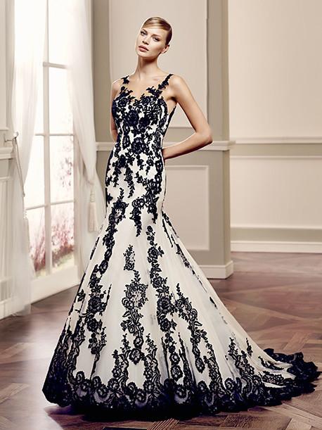 modeca-le-papillon-weddingstyles-seline-zwart-voorkant
