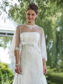 sweetheart-weddingstyles-6087-voorkant-cape-close-up-2