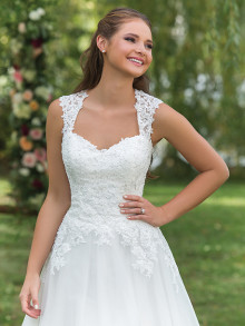 sweetheart-weddingstyles-6146-voorkant-closeup