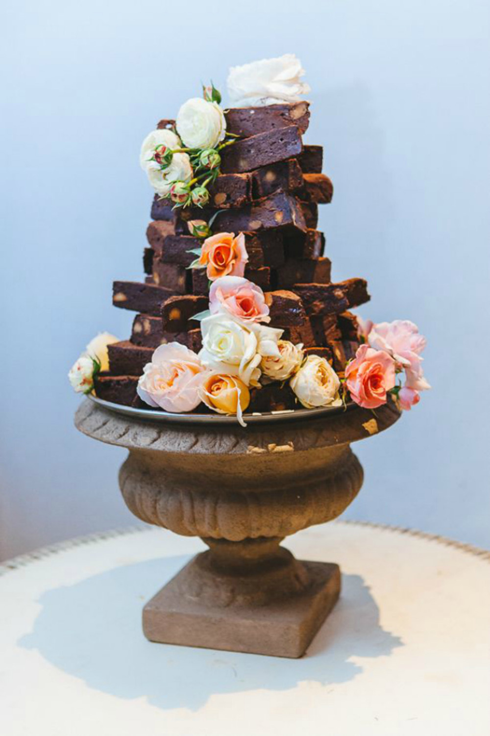 brownie-wedding-cake
