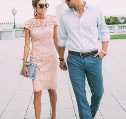 pastel kleding bruiloft