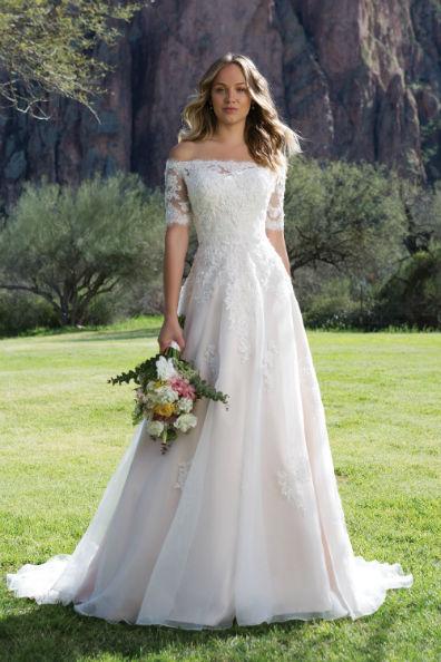 Trouwjurk Van Sweetheart Style 1147 Weddingstyles Al 37